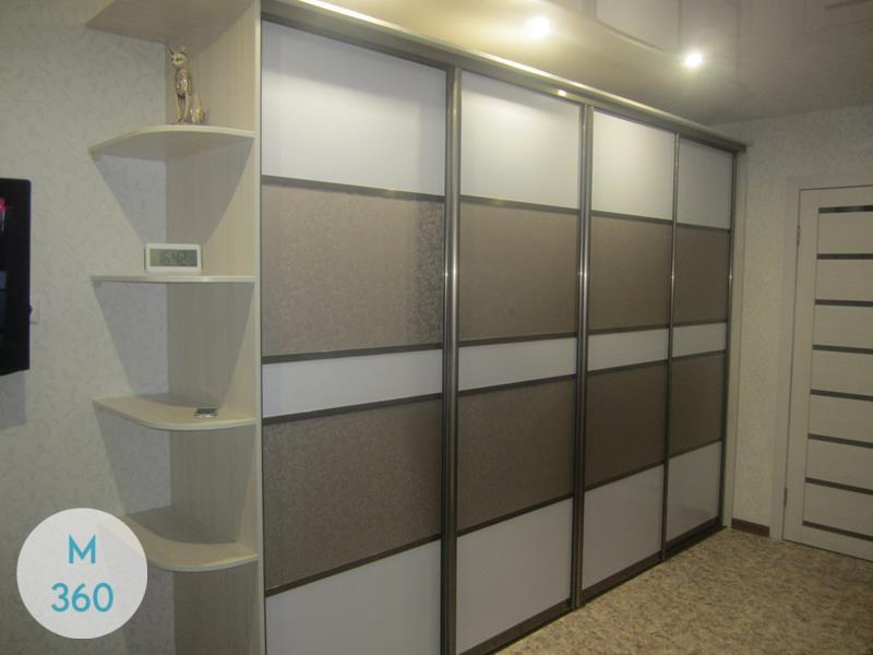 Шкаф-купе стеклянные двери Киншаса Арт 000826419
