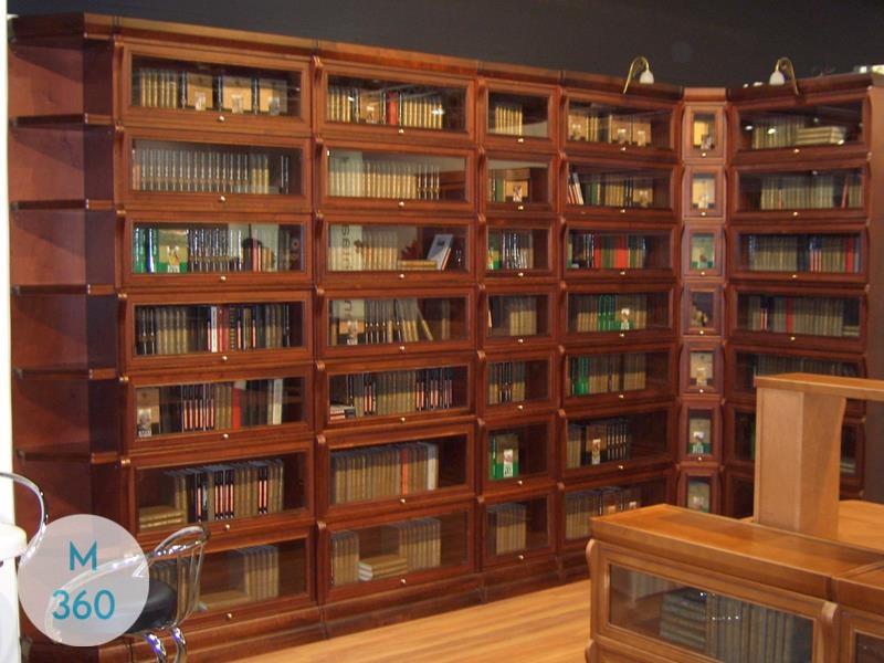 Книжный шкаф из массива Гатчина Арт 002771877