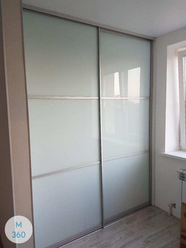 Шкаф-купе стеклянные двери Гринвуд Арт 003045601