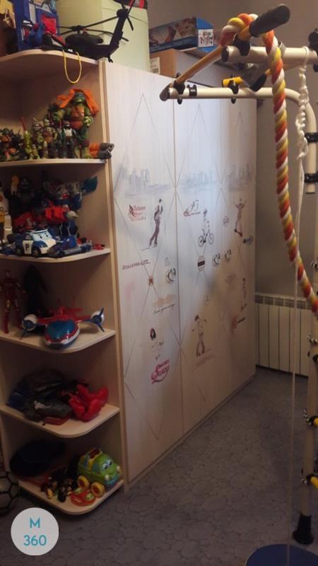 Детский книжный шкаф Салерно Арт 003052681