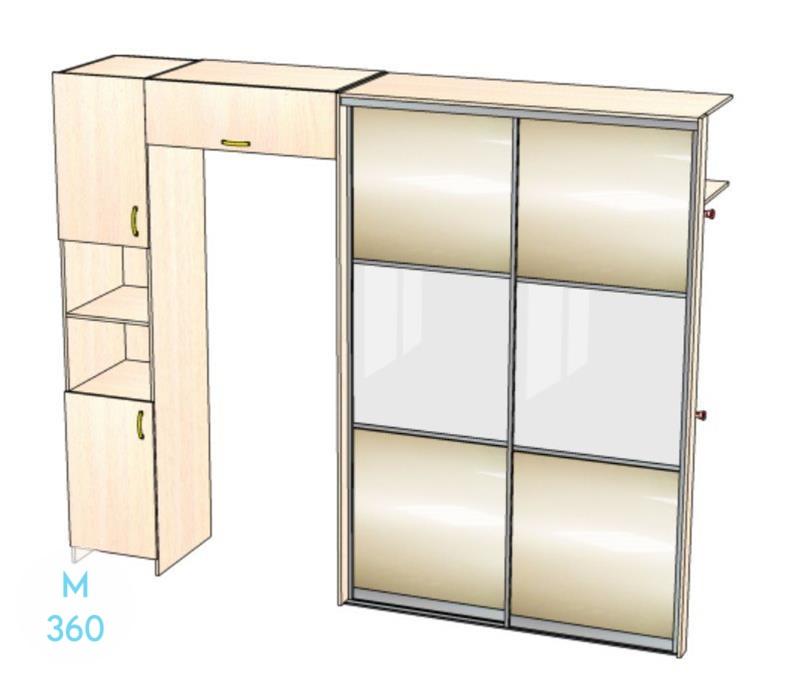 Шкаф для одежды Коста-Рика Арт 004281850