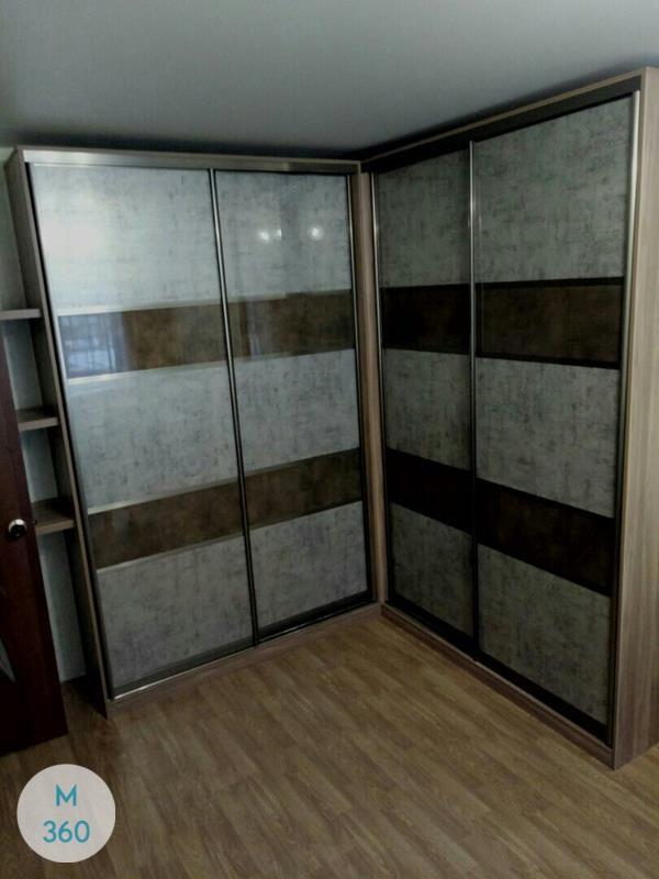 Шкаф-купе стеклянные двери Гёттинген Арт 004538197