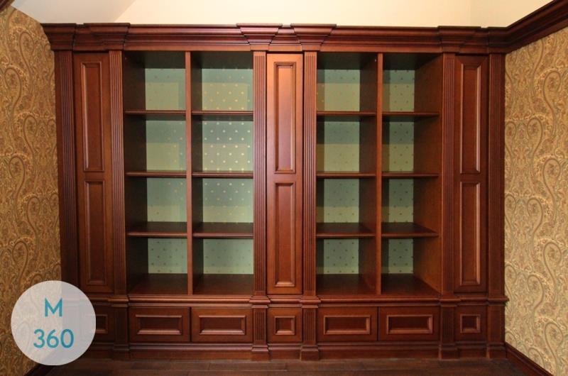 Книжный шкаф из массива Алана Арт 004975053