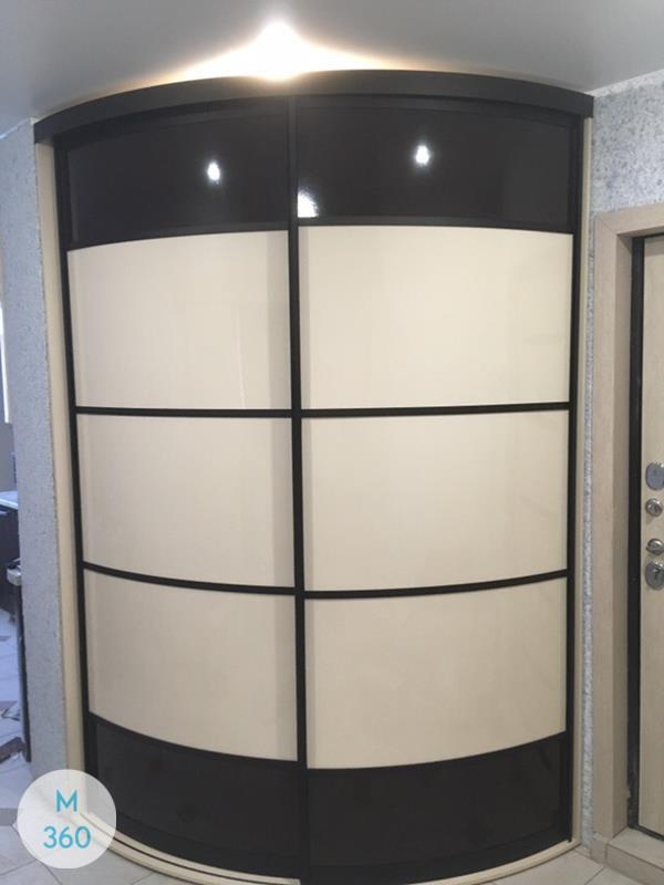 Радиусный шкаф Могадишо Арт 005528876