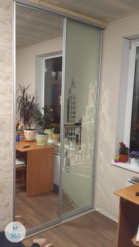 Зеркальные двери для гардеробной Эсватини Арт 006229111