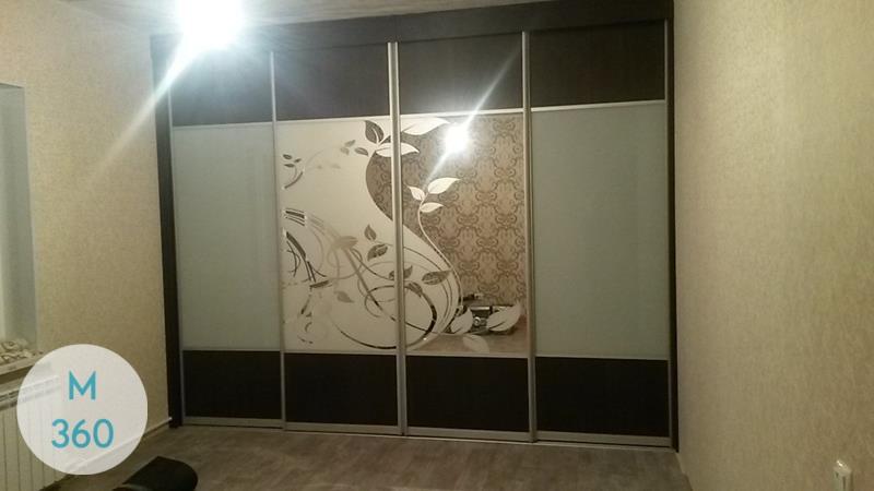 Шкаф-купе стеклянные двери Валентино Арт 006270424