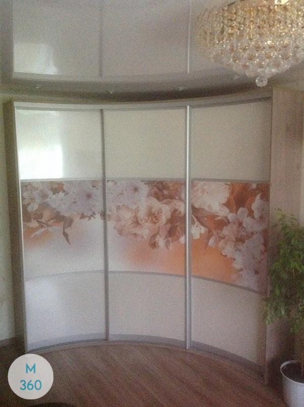 Шкаф-купе стеклянные двери Бенвенуто Арт 006550177