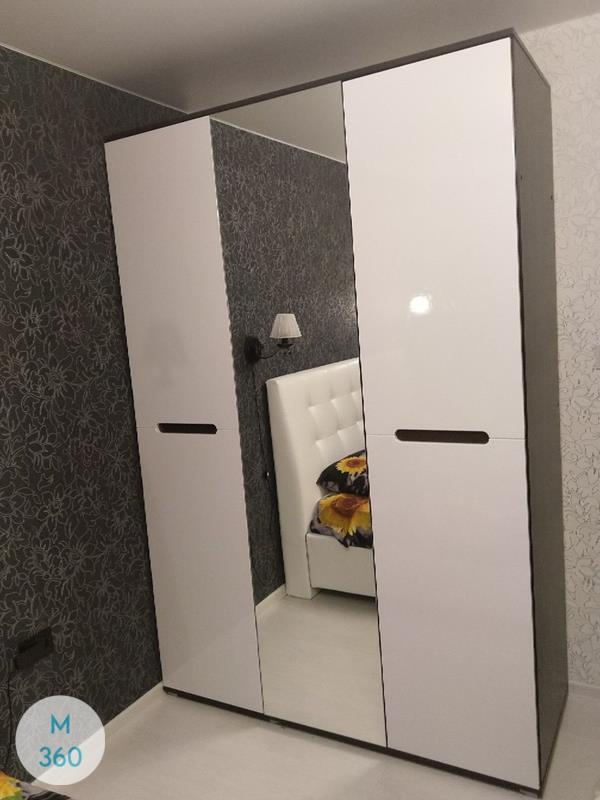 Распашной шкаф с зеркалом Санта-Кларита Арт 007372503