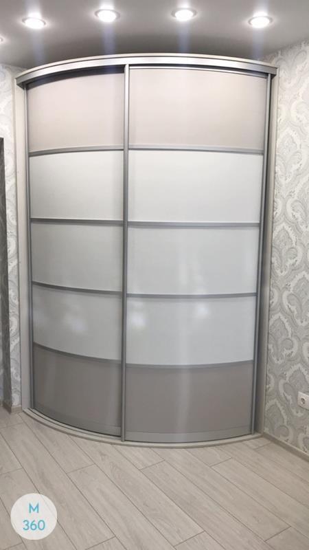 Радиусный шкаф Андреа Арт 007594078