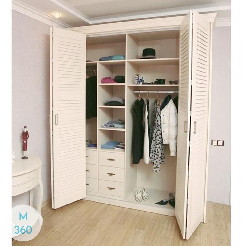Шкаф с жалюзийными дверцами Гондурас Арт 008413172