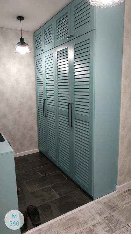 Шкаф с жалюзийными дверцами Лилия Арт 008829134
