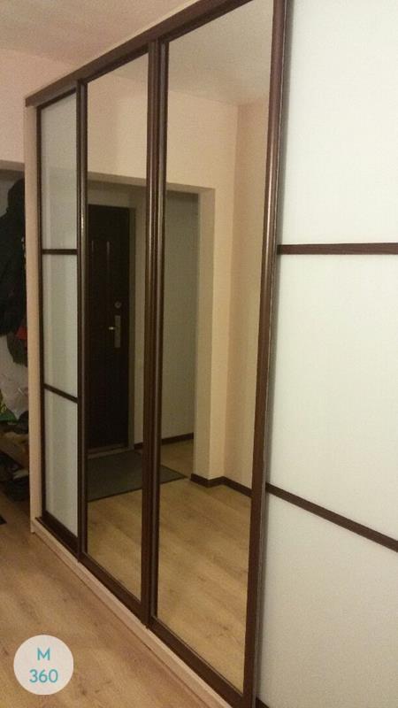 Шкаф-купе стеклянные двери Протея Арт 009161517