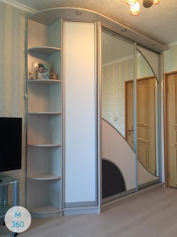 Радиусный шкаф Просперо Арт 009409982