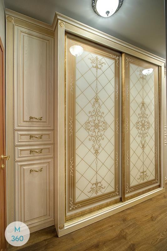 Шкаф-купе стеклянные двери Гисен Арт 009680384